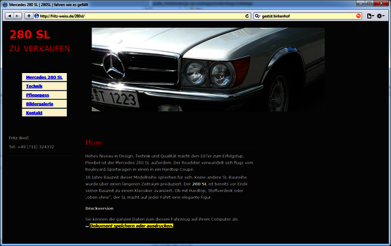 images mediendesign webdesign fritz-weiss-280sl